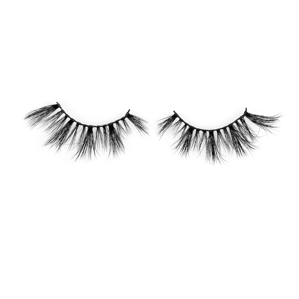 Wholesale cruelty free 3D mink lashes supplier  Canada JH35
